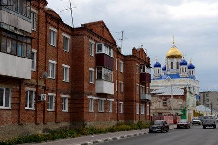 City Yelets of the Lipetsk region. Kinds of the city.