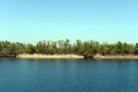The Don River near the village of Romanovskaya, Rostov Region.