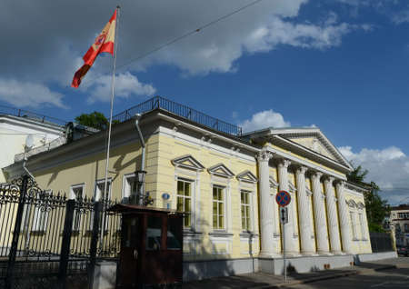 Residence of the Ambassador of Spain in Spasopeskovskiy pereulok, 8. Former city manor of AG Shchepochkoy - NA Of Lviv.