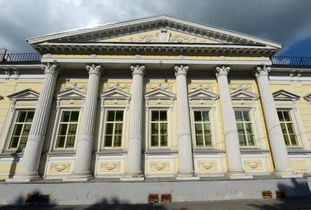 Residence of the Ambassador of Spain in Spasopeskovskiy pereulok, 8. Former city manor of AG Shchepochkoy - NA Of Lviv.