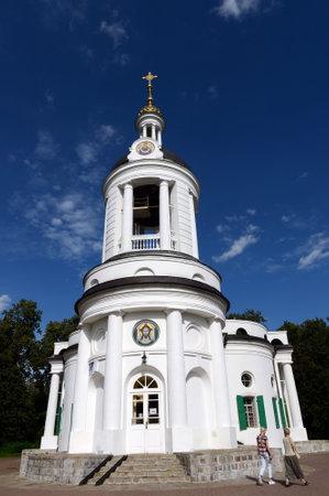 Temple Of Vlakhernskaya Icon Of Mother Of God. Kuzminki. Editorial
