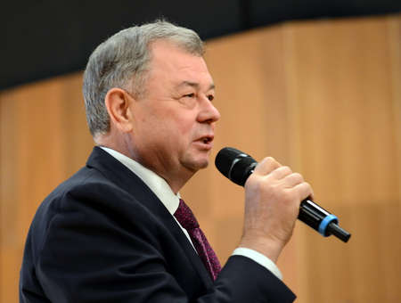 Governor of the Kaluga region. Anatoly Artamonov.