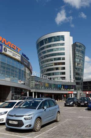 Shopping center Format on the Olympic Avenue in Mytishchi.