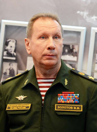 Commander-in-Chief of the Internal Troops of the Ministry of Internal Affairs of Russia, General of the Army Viktor Zolotov