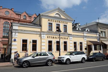 Restaurant Moscow Kukhmisterskaya, the former home of Ushakov-Shaposhnikova, year 1820, Bolshaya Nikitskaya Street, House 60, Building 2 Editorial