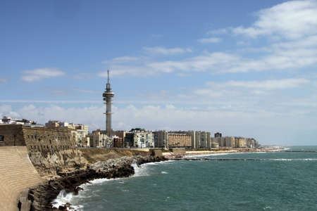 The view of Cadiz is one of the most ancient cities of Western Europe. Editorial