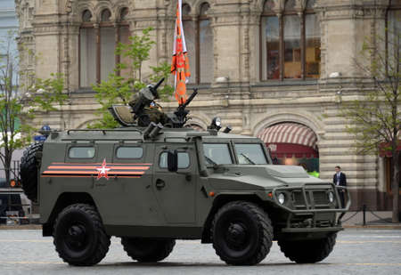 Multi-purpose armored car