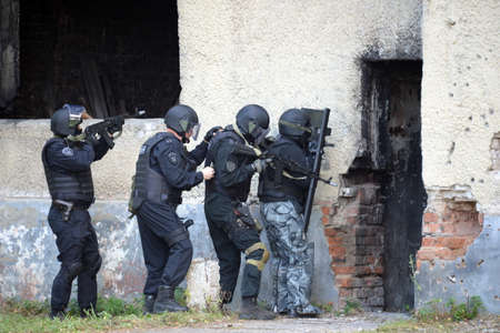 National Guard Special Forces soldiers conduct training to neutralize terrorists