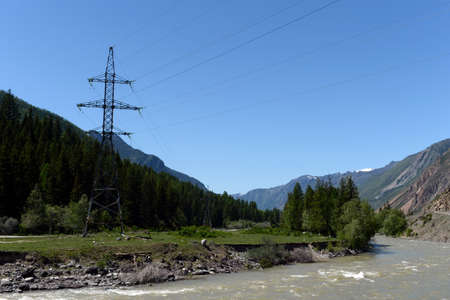 Chuya Mountain River, Altai Republic, Siberia, Russia