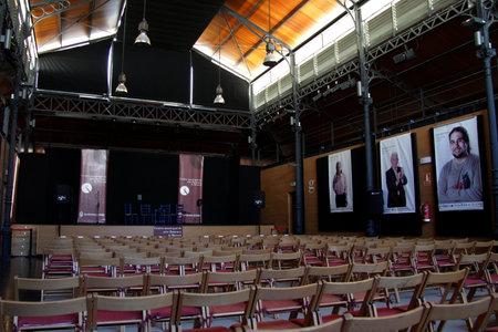 Concert Hall in the center of art La Merced 報道画像