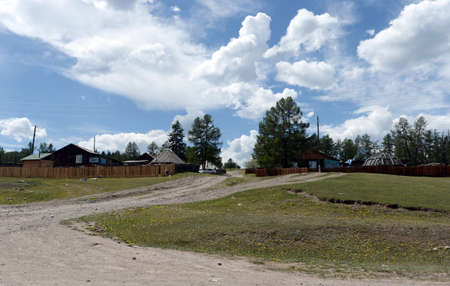 The village of Balyktuyul in the Ulagan District of the Altai Republic