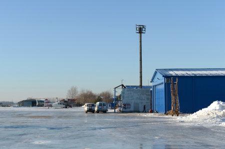 Myachkovo airfield in the Moscow region