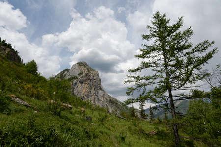 Mountain landscape, Altai Republic, Siberia, Russia