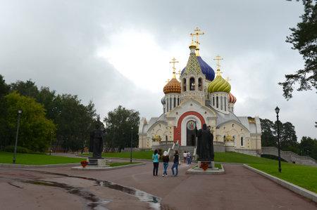 Cathedral in Chernigov and Kiev in Peredelkino Editorial