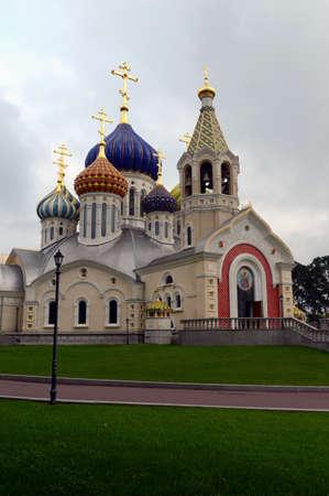 Cathedral in Chernigov and Kiev in Peredelkino