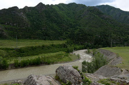 The Chuya River, Gorny Altai, Siberia, Russia