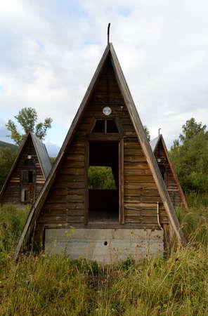 Abandoned tourist complex