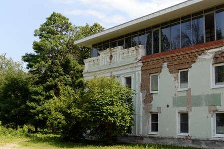 Building in the Ognyanov estate in Yaroslavl