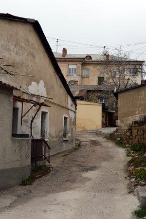 City yard on Pushkin street in Sevastopol 報道画像