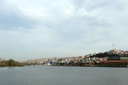 View of the urban area of Sutluje in Istanbul from Silahtaraga street