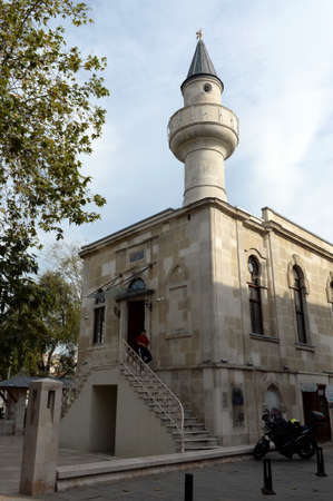 Captain Pasha Mosque on Eyup Iskele Street in Istanbul. Turkey