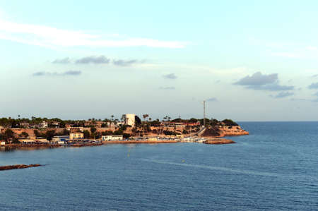 View of Cabo Roig in Orihuela Costa. Spain