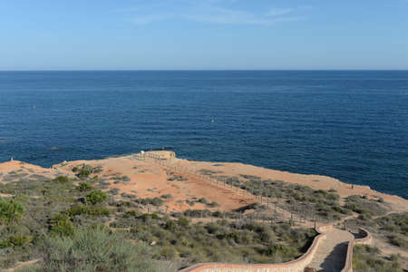 Paraje Aguamarina Park on the Costa Blanca in Orihuela. Spain