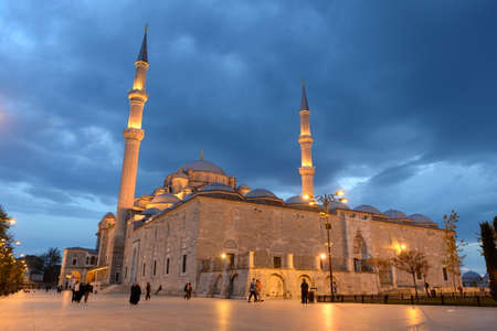 Fatih mosque or Conqueror mosque is one of the largest mosques in Istanbul, located in the European part of the city in the Fatih district. Editorial