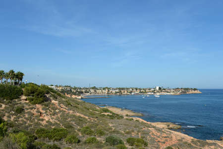 Costa Blanca. View of Cabo Roig in Orihuela Costa. Spain Standard-Bild