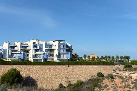 Residential residence on the Costa Blanca in Orihuela. Spain Editorial