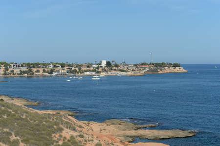 Yacht Marina in Cabo Roig. Costa Blanca. Orihuela. Spain 版權商用圖片