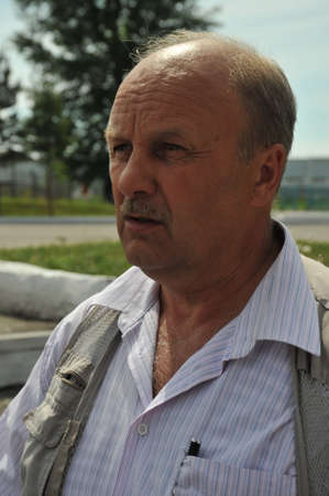 Writer Nikolai Ivanov, who was in Chechen captivity during the war.
