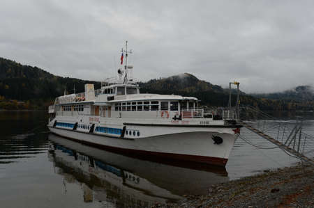 The passenger ship