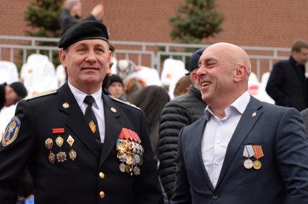 Veterans of the special purpose detachment