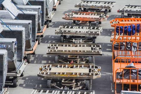 onboard: Cargo trucks on the flight field