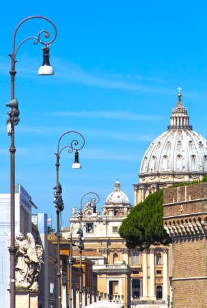 saint pauls cathedral: Saint Pauls Cathedral in Rome, Italy