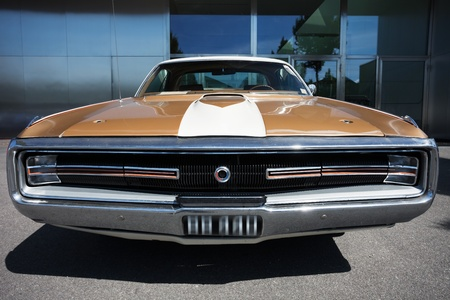 car grill: US Classic Car