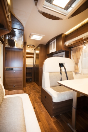 recreational vehicle: Interior of Recreational Vehicle