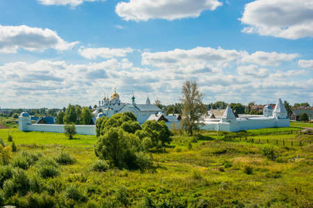 The intercession convent in Suzdal on a Sunny summer day.