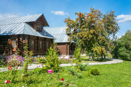 The guest house in Pokrovsky convent in Suzdal, Vladimir region, Russia. Editorial