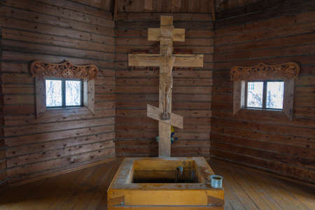 In the chapel of the holy spring of St. The city of Rostov, Yaroslavl region, Russia. Editöryel