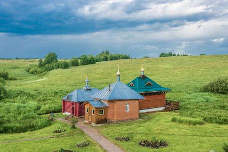 The Holy Source of St. Nikita the Stylite at the Nikitsky Monastery, Pereslavsky District, Yaroslavl Region, Russia.