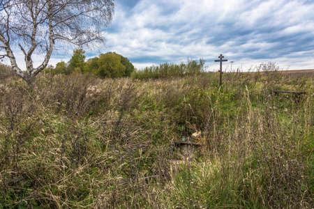 The holy source of St. Gennady Lyubimogradsky and Kostroma near Timino, Lyubimsky district, Yaroslavl region, Russia.