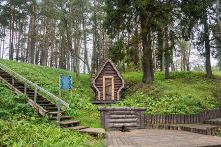 Sacred source Kukoboya, Pervomaisky district, Yaroslavl region, Russia. Фото со стока