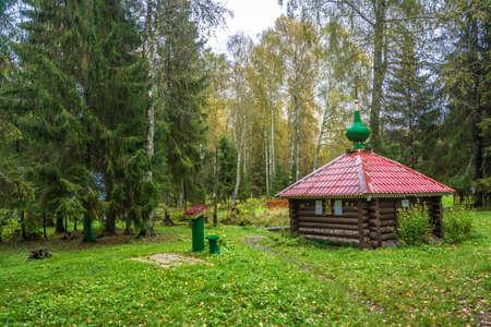 Adrian Poshekhonsky near the village of Zadnevo, Poshekhonsky district, Yaroslavl region, Russia. Фото со стока