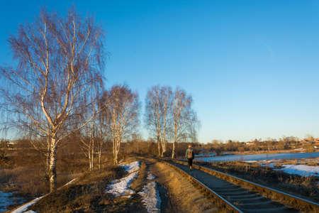 It is a beautiful landscape. Stok Fotoğraf