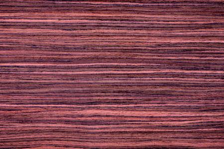 rosewood: Texture of red rosewood veneer, seamless. Stock Photo