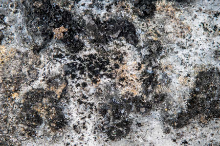 spot the difference: Abstract grunge background from stained and burned surface of metal.