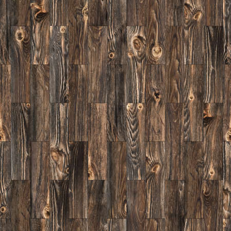 Background Of Rustic Parquet Wood Grain Texture With Knots Which