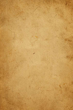 Old Yellow Paper Texture Background Stock Photo